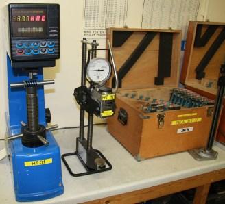 Rockwell Hardness Tester